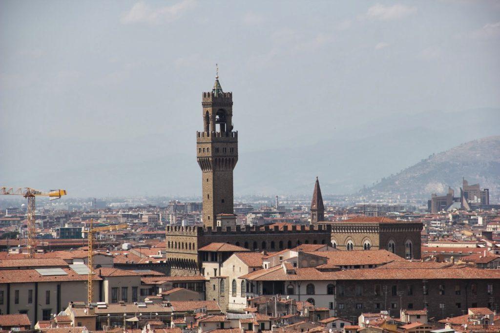 Vista do Palazzo Vecchio
