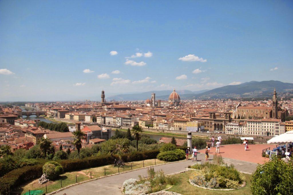 Vista a partir da Piazzale Michelangelo
