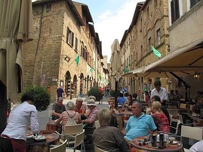 Café em San Gimignano