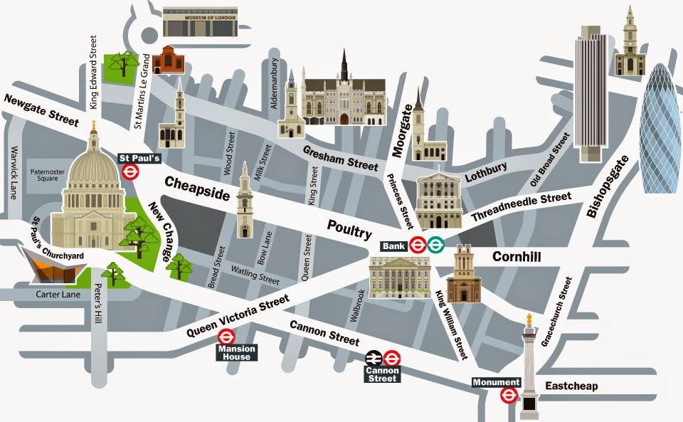 """Londres – Passeio pela """"City"""""""