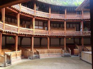Por dentro do Shakespeare Globe