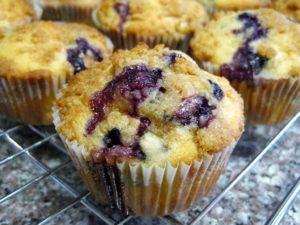 Muffin de blueberry - yummy!