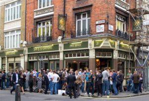 Um típico pub