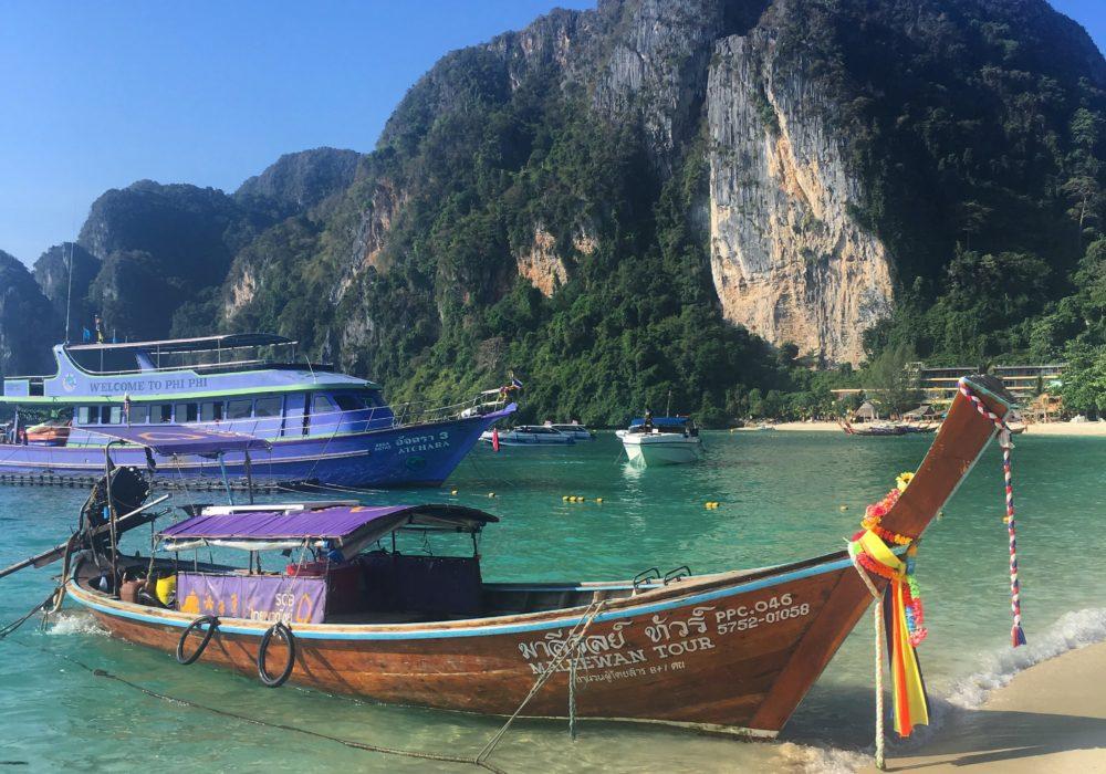 Chegando no Paraíso: o arquipélago de Phi Phi, na Tailândia